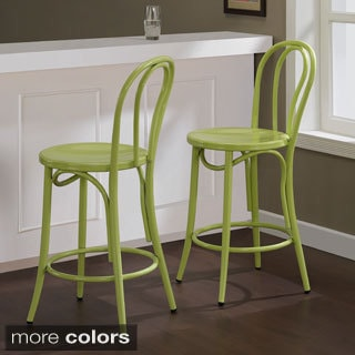 Cafe Metal Counter Stool (Set of 2)
