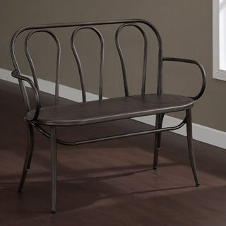 Cafe Metal Bench in Vintage
