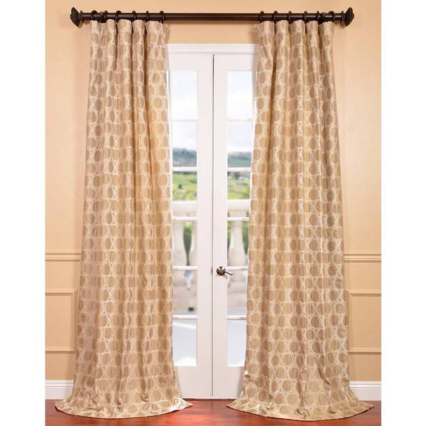 Copenhagen Wheat Jacquard Curtain Panel