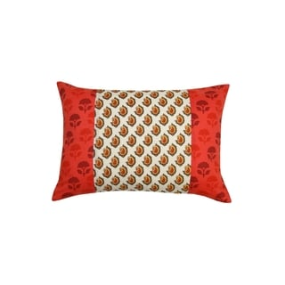 Gauri Patchwork Throw Pillow (India)