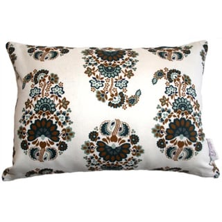 Green Meena Throw Pillow (India)