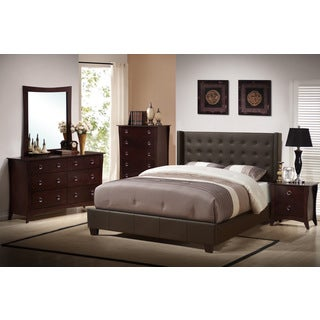 Pismo Beach Upholstered 5-Piece Bed Set