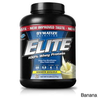 Dymatize Elite Whey Protein Supplement (5 pounds)