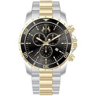 Jivago Men's Ultimate Silver-and-Gold Chronograph Watch