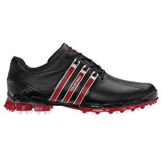 Adidas Men's Tour 360 ATV Black/ Red Golf Shoes