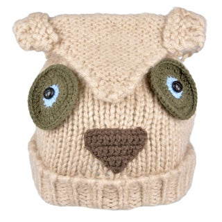 Journee Collection Womens Knit Owl Hat
