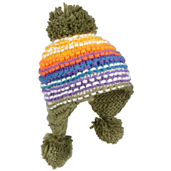 Journee Collection Womens Knit Pom-pom Hat