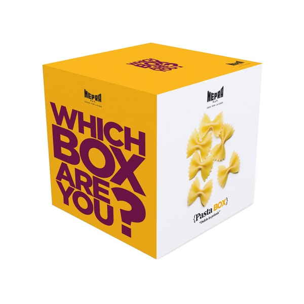 Mepra Which Box Are You? Pasta Box