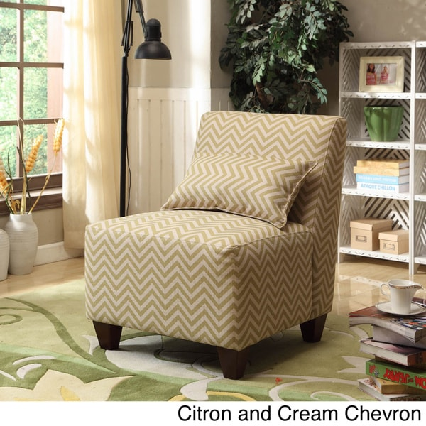 HomePop Large Patterned Accent Chair