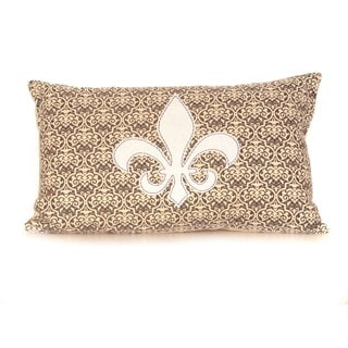 Fleur 12-inch Down Throw Pillow