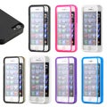 Gearonic TPU Wrap Up Case Built in Screen Protector for iPhone 5 5S