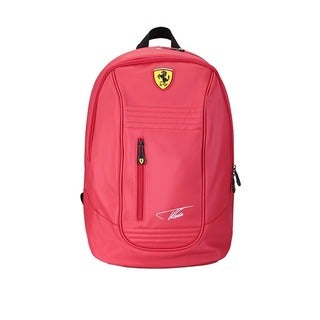 Ferrari Alonso Santander Signature Backpack