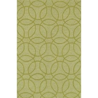 Hand Tufted Benson Chartreuse Rug (3'6 x 5'6)