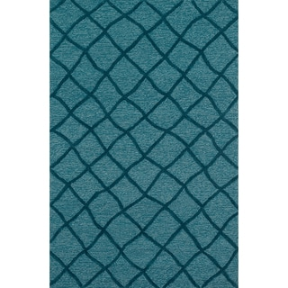 Hand Tufted Benson Blue Rug (9'3 x 13)