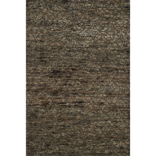 Hand-knotted Phoenix Bark Rug (5'6 x 8'6)