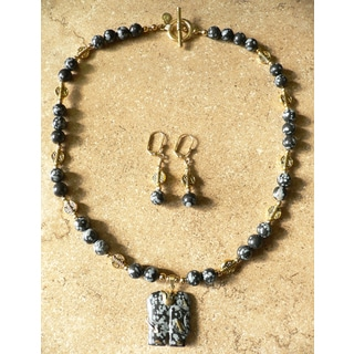'Dharma' Necklace and Earring Set
