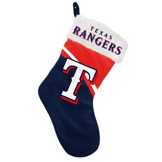 Forever Collectibles MLB Texas Rangers Swoop Logo Stocking