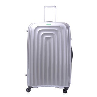 Lojel Wave Polycarbonate 32.5 inch XLarge Hardside Spinner Upright Suitcase