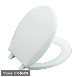 Kohler 'Cachet' Advantage Round Toilet Seat with Plastic Hinges