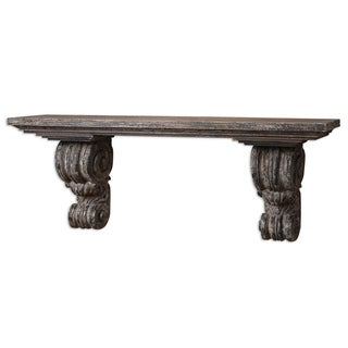 Uttermost Lavina Slate Blue Shelf