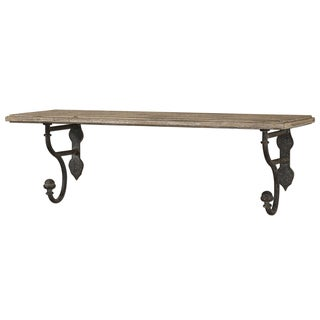 Uttermost Gualdo Aged Wood Shelf