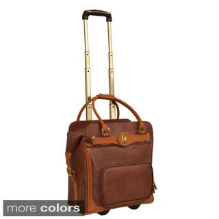 Adrienne Vittadini Carry-on Rolling Laptop Case