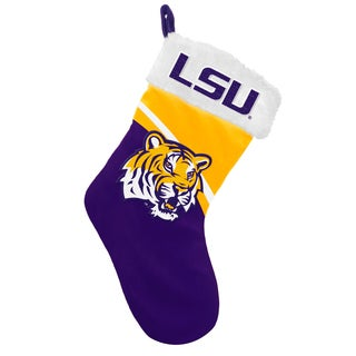 Forever Collectibles NCAA LSU Tigers Swoop Logo Stocking
