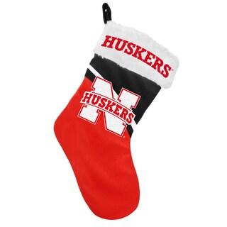 Forever Collectibles NCAA Nebraska Cornhuskers Swoop Logo Stocking