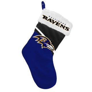 Forever Collectibles NFL Baltimore Ravens Swoop Logo Stocking