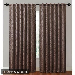 Victoria Classics Hensley 84-inch Backtab Blackout Curtain Panel