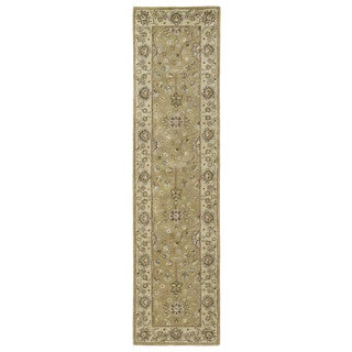 Anabelle Hand-tufted Camel-color Wool Rug (2'6 x 10')
