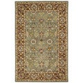 Anabelle Hand-tufted Olive Green Wool Rug (10' x 14')