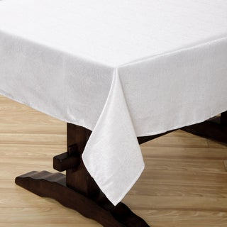 Sandstone White Tablecloth
