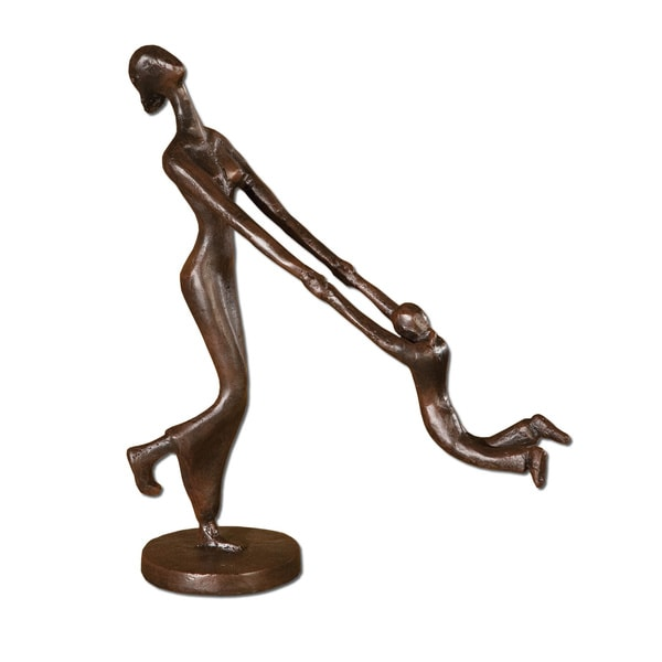 Uttermost At Play Iron Sculpture
