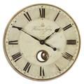 Uttermost 'Harrison' Grey 23-inch Wall Clock