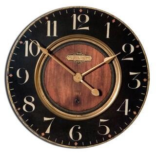 'Alexandre Martinot' 30-inch Round Wall Clock