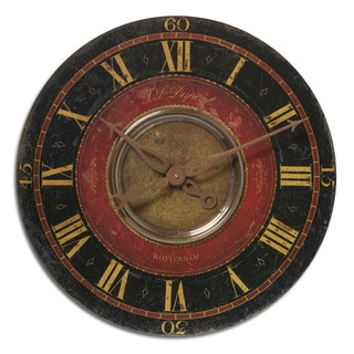 'Dupont' 27-inch Weathered Wall Clock
