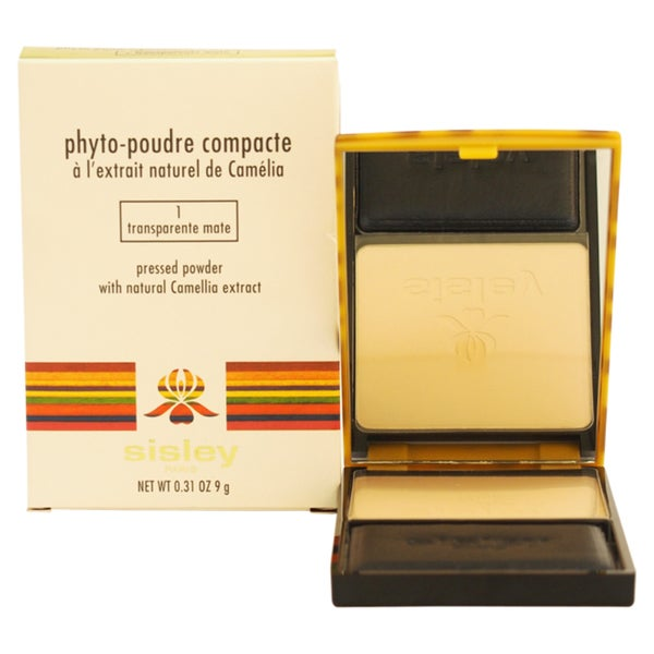 Sisley Phyto Poudre Transparente Mate 1 Compacte Pressed Powder