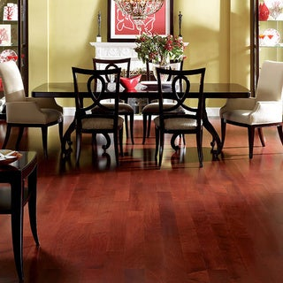"Envi Exotic African Mahogany 1/2"" x 5"" Engineered Hardwood Flooring (22.79 Sq Ft)"