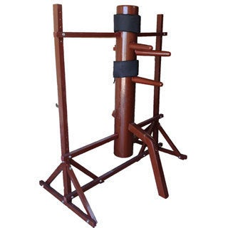 Kungfung Red Wing Chun Wooden Dummy