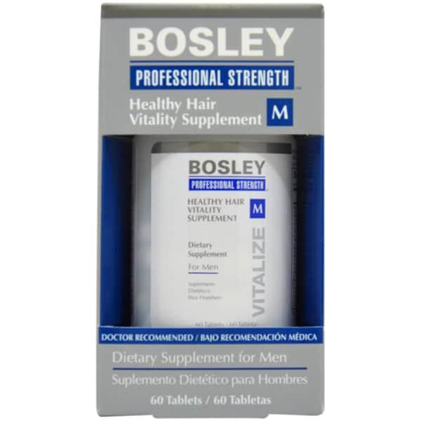 Bosley Healthy Hair Vitality Men's 60-count Hair Supplement