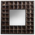 Elements 25 x 25-inch Braided Square Wall Mirror