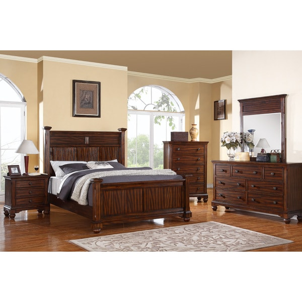 forester 5 piece bedroom set 5 pieces 15813284