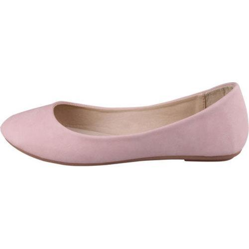 Women's Beston Demi-05 Blush Faux Leather