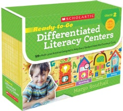 Ready-to-Go Differentiated Literacy Centers, Grade 2: 125+ Multi-Level Activities Designed to Help Every Student Meet the Com...