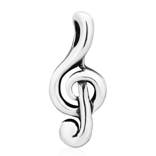 Treble Clef .925 Sterling Silver Musical Pendant (Thailand)