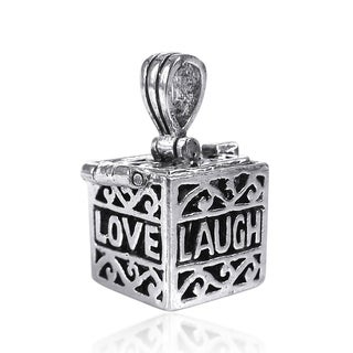 Prayer Box Locket .925 Silver Pendant (Thailand)