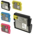 BasAcc 5-piece Ink Cartridge Set Compatible with Brother LC51BK