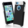 BasAcc White Skin/ Black Hard Hybrid Case for Apple� iPhone 5C