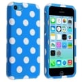 BasAcc Blue/ White Dots Protective Case for Apple iPhone 5C
